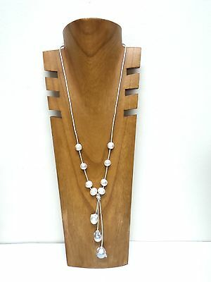 Wood Necklace Display