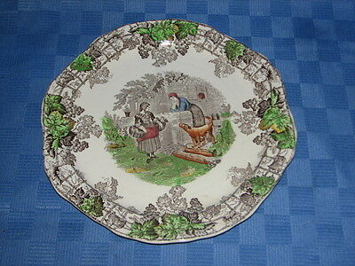 Spode Copeland Decorative Plate, Spodes Byron, Series No. 1, Made in England.