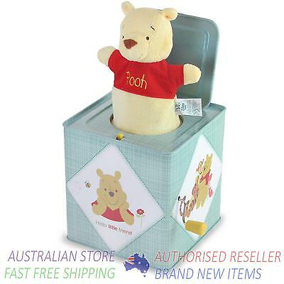 Disney Baby WINNIE THE POOH JACK IN THE BOX New
