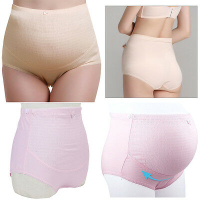 Pregnancy Maternity Knickers Underwear Tummy Over Bump Support Panties Briefs