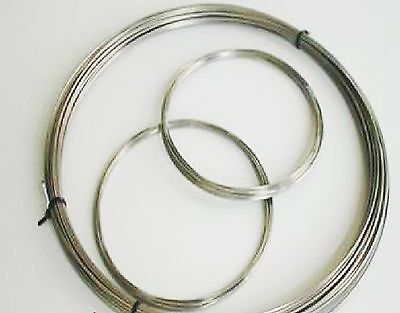 1pcs 99.96% Pure Titanium Ti Titan Metal Wire,Diameter 3mm, Length 1m #EYM