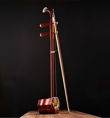 New CHINESE TRADITIONAL Red rosewood erhu instrument