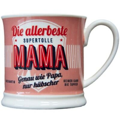 Heart and Home 00001 Retro-Becher Mama