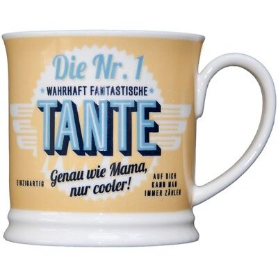 Heart and Home 00007 Retro-Becher Tante