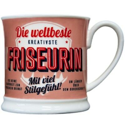 Heart and Home 00050 Retro-Becher Friseurin