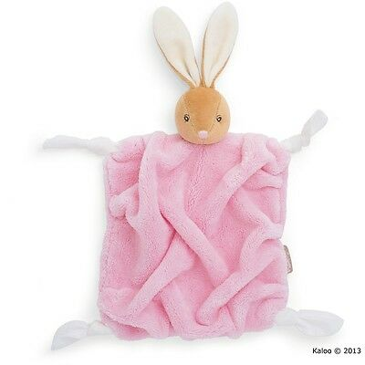 KALOO K962307 Plume Schmusetuch 'Hase' rosa