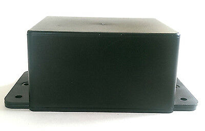 ABS Plastic Small Enclosure Project Box with Mounting Flanges- UK Made