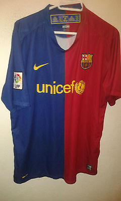 FC Barcelona XL CAMISETA FUTBOL FOOTBALL SHIRT