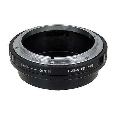 Fotodiox Lens Mount Adapter Canon FD New FD FL Lens to MFT Micro 4/3 Four Thi...