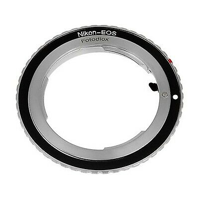 Fotodiox Lens Mount Adapter Nikon Lens to Canon EOS Camera Body for Canon EOS...