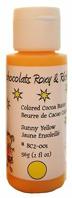 Cocoa Butter -  2 oz - Sunny Yellow