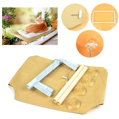 Cat Window Bed Mounted Seat Pet Sunny Hammock Wall Home Cover Suction Washable