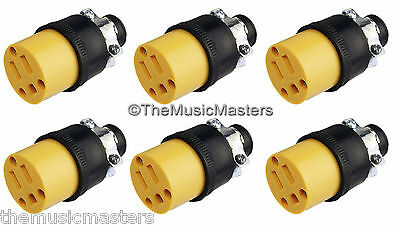 6X Extension Cord Replacement Electrical AC POWER SOCKET End Female Connector