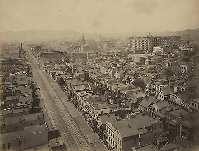 1880s VIEWS OF SAN FRANCISCO by I.W. TABER group of 30 albumen photographs