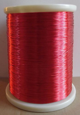 polyurethane Enameled Copper Wire Magnet Wire 2UEW/155 0.5mm red #A40O LW