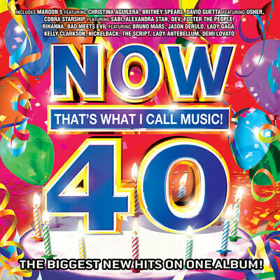 Various Artists : Now 40: Thats What I Call Music CD