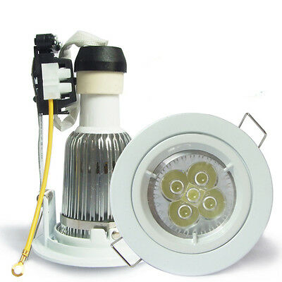 10W 710LM LED Recessed GU10 Ceiling Downlight Kit spot lamp warm cool white