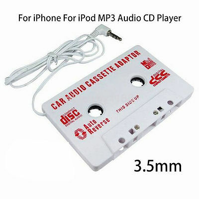 Car Audio Tape Cassette - Jack AUX For iPod MP3 iPhone converter adapter