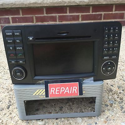 MERCEDES BENZ ML,GL,CLS,E, & SL,GPS Navigtaion RADIO(WE REPAIR YOUR COMAND)