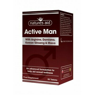 Natures Aid Active Man - 60 Tablets