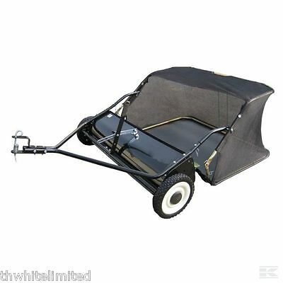 """Ride On Mower Lawn Sweeper Tractor Towed 38"""" (Ff)"""