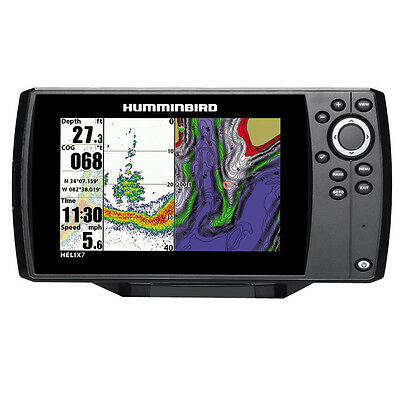 Humminbird HELIX 7 Fishfinder/GPS Combo with Unimap 409820-1