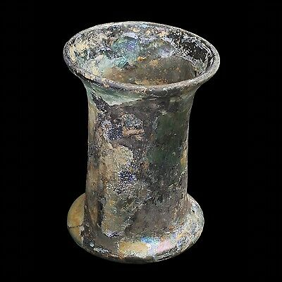 Aphrodite- Ancient Frankish Glass  Bell Beaker From Mayence