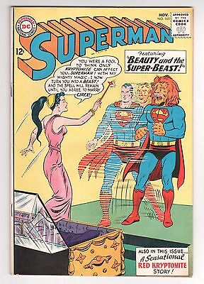 Superman #165 (1939 Series) DC Comics November 1963 FN-