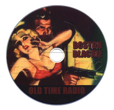 Boston Blackie (OTR) Old Time Radio Crime / Detective / Mystery (mp3 DVD)