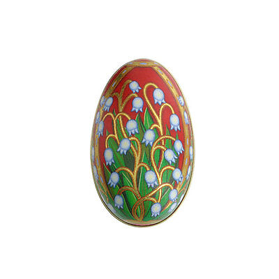 British Museum Official Fabergé chocolate-filled tin egg