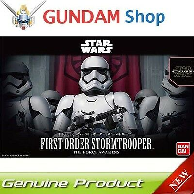 BANDAI Star Wars 1/12 First Order Stormtrooper No. 203217 JAPAN