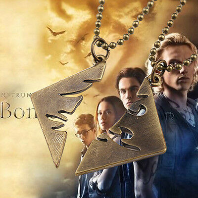 The Mortal Instruments City of Bones Parabatai Couple Necklace BFF Necklace Pair