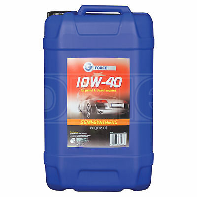 G Force 10w-40 Semi-Synthetic Engine Oil - 25 Litres
