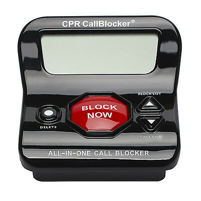 CPR V202 Call Blocker - Stop Scam Calls - Block 1200 Numbers - Open Box