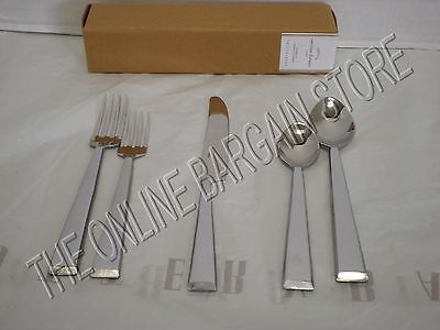 Pottery Barn Caroline Flatware Silverware Kitchen Dining Knife Fork Spoon 5 Pcs