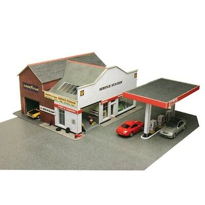 Metcalfe PO281 00/H0 Service Station OO Gauge Model Railway