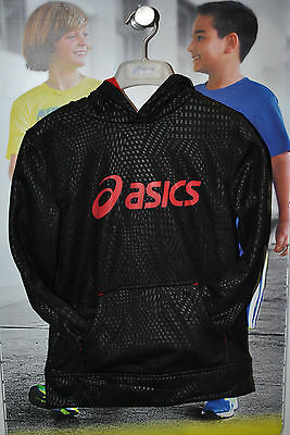 ASICS Youth H2O Popover Hoodie - Black - BUY LOW NOW!