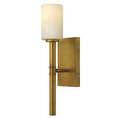 Hinkley Lighting 3580VS, Margeaux Wall Sconce In Vintage Brass
