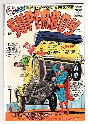 Superboy #126 (1939 Series) DC Comics January 1966 a nice FN+ for the grade