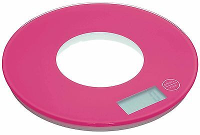 Kitchen Craft  Colourworks Pink Electronic Kitchen Scales