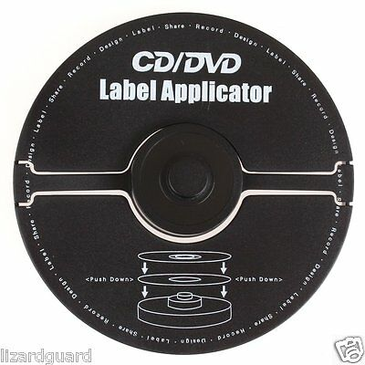 APPLICATOR CD/DVD LABEL Merax 176-027 40mm center hole labels from label sheet