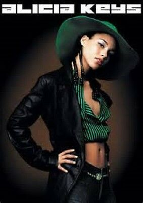 2002 ALICIA KEYS POSTER PRINT 22x34 NEW FAST FREE SHIPPING