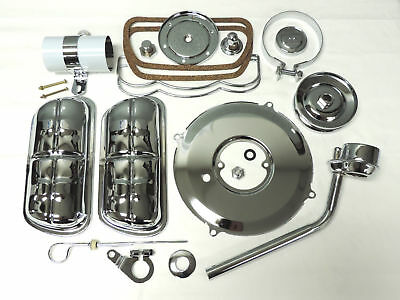 VW engine dress up kit chrome VW chrome valve covers coil cover bug chrome kit