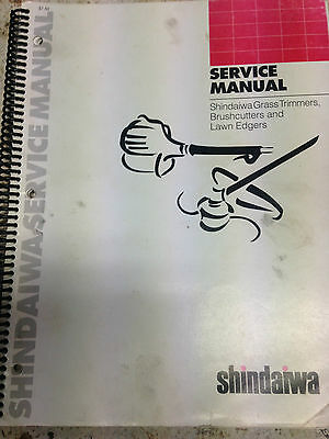 Shindaiwa Workshop Manual Grass Trimmers, Brushcutters,Lawn Edgers