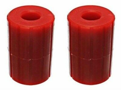 2 Energy Suspension 90.4003R Red Poly Fifth Wheel Bushings for SAF Holland Hitch