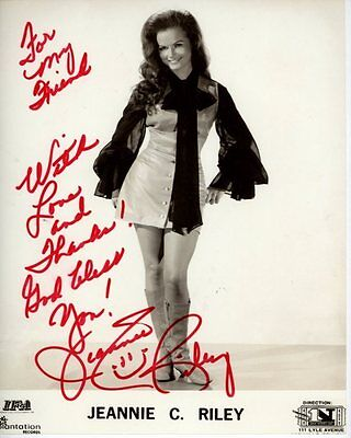 JEANNIE C. RILEY Signed Autographed Photo