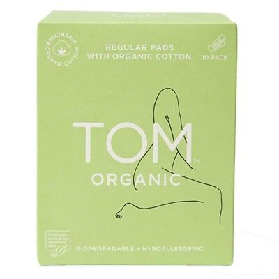 TOM Organic Ultra Thin Day Pads (10 pack) | BRAND NEW