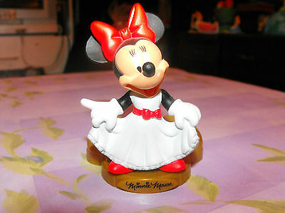 ~Disneyland 50th Anniversary MINNIE MOUSE Happy Meal~ McD's WDW Toy Fig Disney ~
