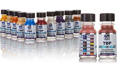 Dental Lab Product Acrylic Stain - TOP AIRSTAIN GLAZE - PROFESIONAL KIT