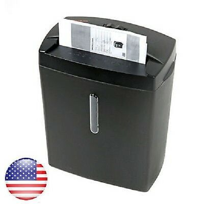 Bonsaii DocShred C560-D 6-Sheet Micro-Cut Paper Shredder Overload and Thermal